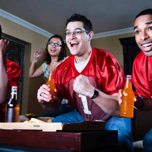SB090613-sports-fantasy-football-fans-watching-game-tv-team-men-happy